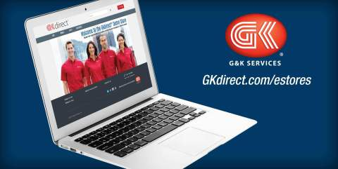 G&K Services has introduced online eStores for businesses and their employees to purchase branded work apparel and accessories. (Graphic: G&K Services)