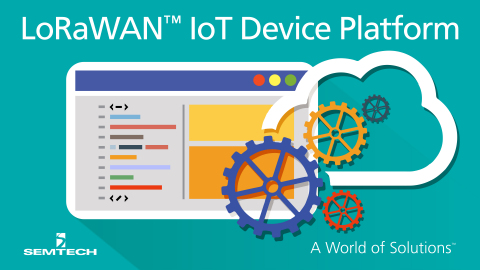 Semtech and ARM Introduce mbed IoT Device Platform for LoRaWAN™ Specification. (Graphic: Business Wi ...