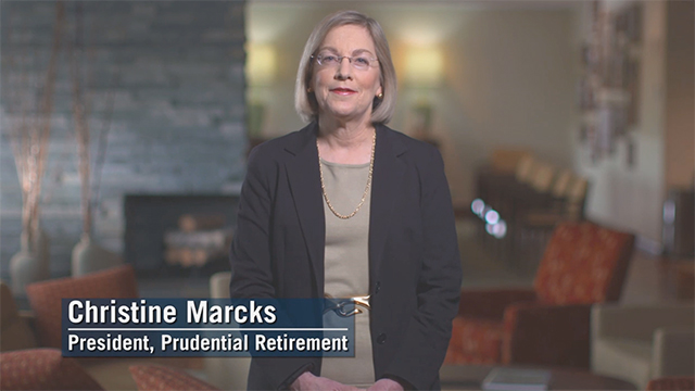 Christine Marcks, president of Prudential Retirement explores how we can outsmart our brains to make progress in saving for tomorrow.