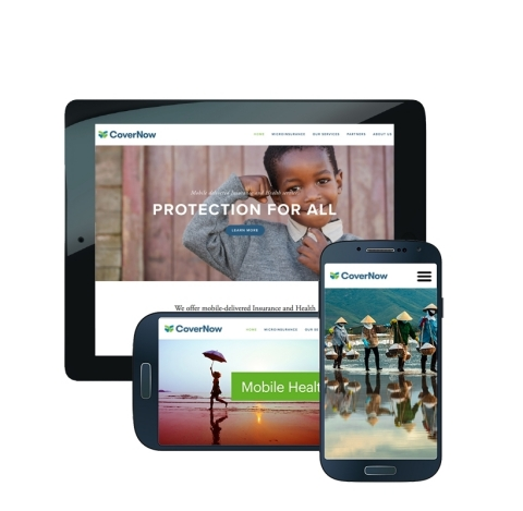 Upstream launches CoverNow microinsurance services via mobile (Photo: Business Wire)