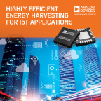 Energy Harvesting Power Management Unit Delivers Industry-Leading Efficiency in Energy Scarce IoT Applications (Photo: Business Wire)