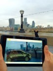 Accenture's prototype demonstrates how augmented reality can revolutionize the shopping experience for consumers by allowing them to view and interact with a full-scale virtual version of the object - or car - they are considering buying. (Photo: Business Wire)