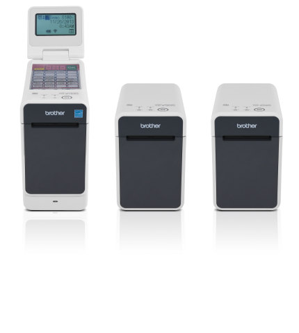 The Brother Model TD-2130NHC is the world's first healthcare thermal printer to incorporate TrustSense™ smart media technology (Photo: Business Wire)