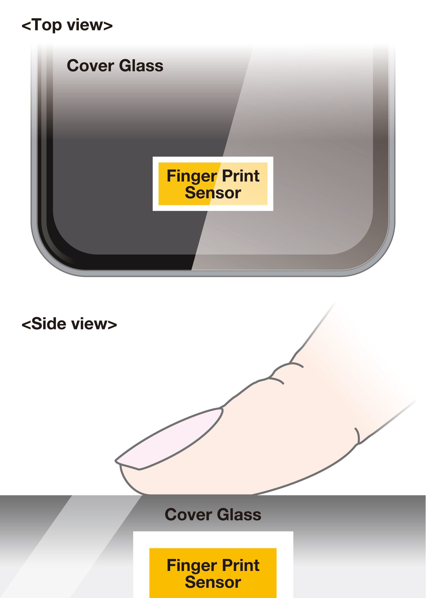 AGC Asahi Glass\'s New Smartphone Cover Glass Enables Fingerprint ...