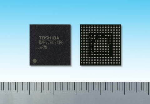 "Toshiba: ""TMPV7602XBG"", a new TMPV760 series line-up of image recognition processors suited to monoc ..."
