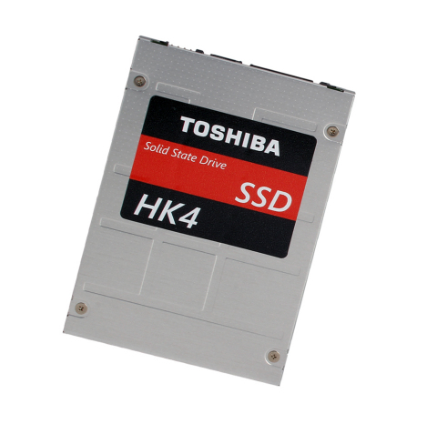 "Toshiba: ""HK4* Series"" of Enterprise SSDs Using 15nm MLC NAND (Photo: Business Wire)"