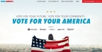 Vote for your America website, YourAmerica.com (Photo: Univision)