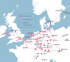 euNetworks footprint (Photo: Business Wire)