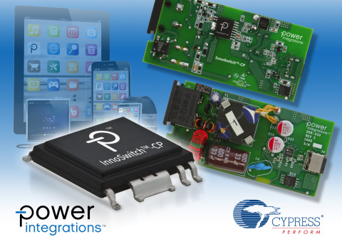 InnoSwitch-CP and EZ-PD CCG2 USB-PD Reference Design (Graphic: Business Wire)