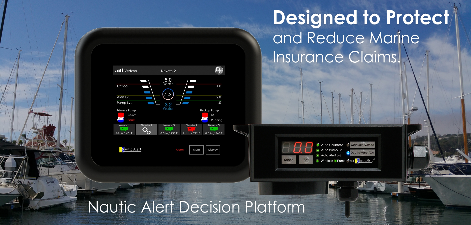 Early Detection and Notification of Key Bilge Events and Unexpected Yacht Movement for Prevention, Protection, and a Peace of Mind. www.NauticAlert.com (Photo: Business Wire)