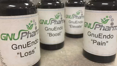 GNUPharma's new product line includes GnuEndo Loss, GnuEndo Pain, GnuEndo Boost, GnuEndo Elevate and GnuEndo Sleep, each of which has been specially and carefully researched and developed from all natural herbs and ingredients. (Photo: Business Wire)