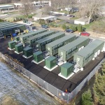EDF Renewable Energy's first commercial storage project in McHenry County Illinois. (Photo: Business Wire)