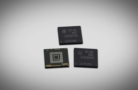 256GB UFS 2.0 embedded memory (Photo: Business Wire)