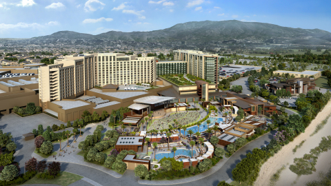 Rendering of the Pechanga Resort and Casino Expansion (Photo: Business Wire)