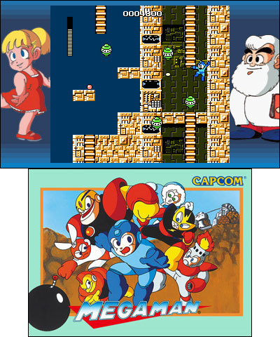 Mega Man Legacy Collection features all six original NES games and more fun features. (Graphic: Business Wire)