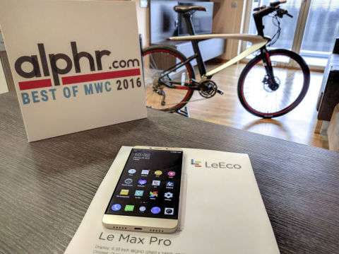 LeEco Awarded Most Innovative Company at Mobile World Congress (Photo: Business Wire)