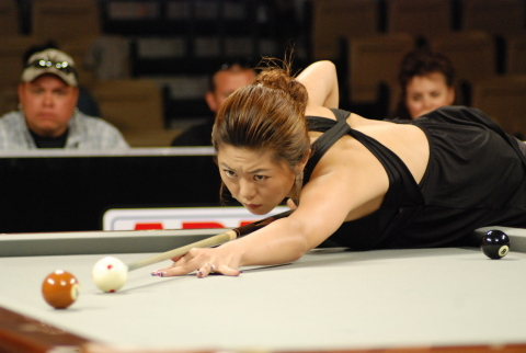 Ga-young Kim, ranked #1 in the Women's Professional Billiard Association, is among the 48 players coming to Rivers Casino in Pittsburgh, March 9-13. (Photo: Business Wire)