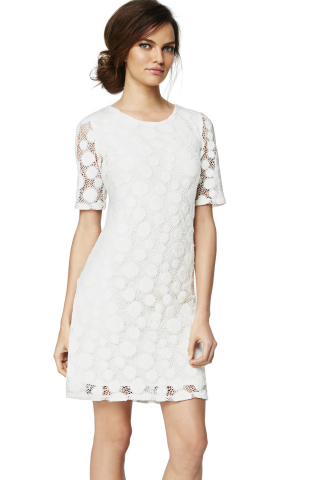 Alfani Circle Lace Dress, $99.50, exclusively at select Macy's stores and on macys.com (Photo: Busin ...