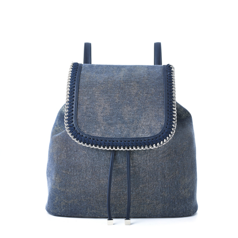 I.N.C. International Concepts Denim Backpack, $99.50, exclusively at select Macy's stores and on macys.com (Photo: Business Wire)