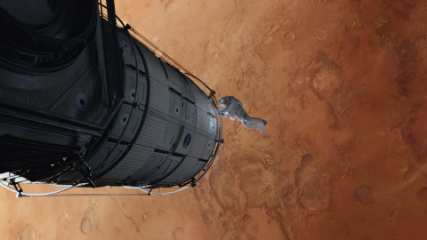 The Martian, ©2015 Twentieth Century Fox Film Corporation. Image courtesy of Framestore (Photo: Business Wire)
