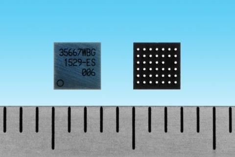 "Toshiba: ""TC3567WBG-006"", a compact Bluetooth(R) Low Energy Communication IC for Scatternet Devices (Photo: Business Wire)"