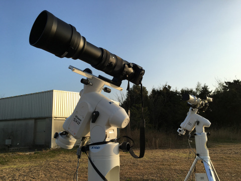 Panasonic LUMIX GH4 camera attached to a telescope to capture the spectacular moment (Photo: Business Wire)