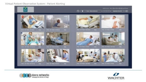 Virtual Patient Observation. (Photo: Business Wire)