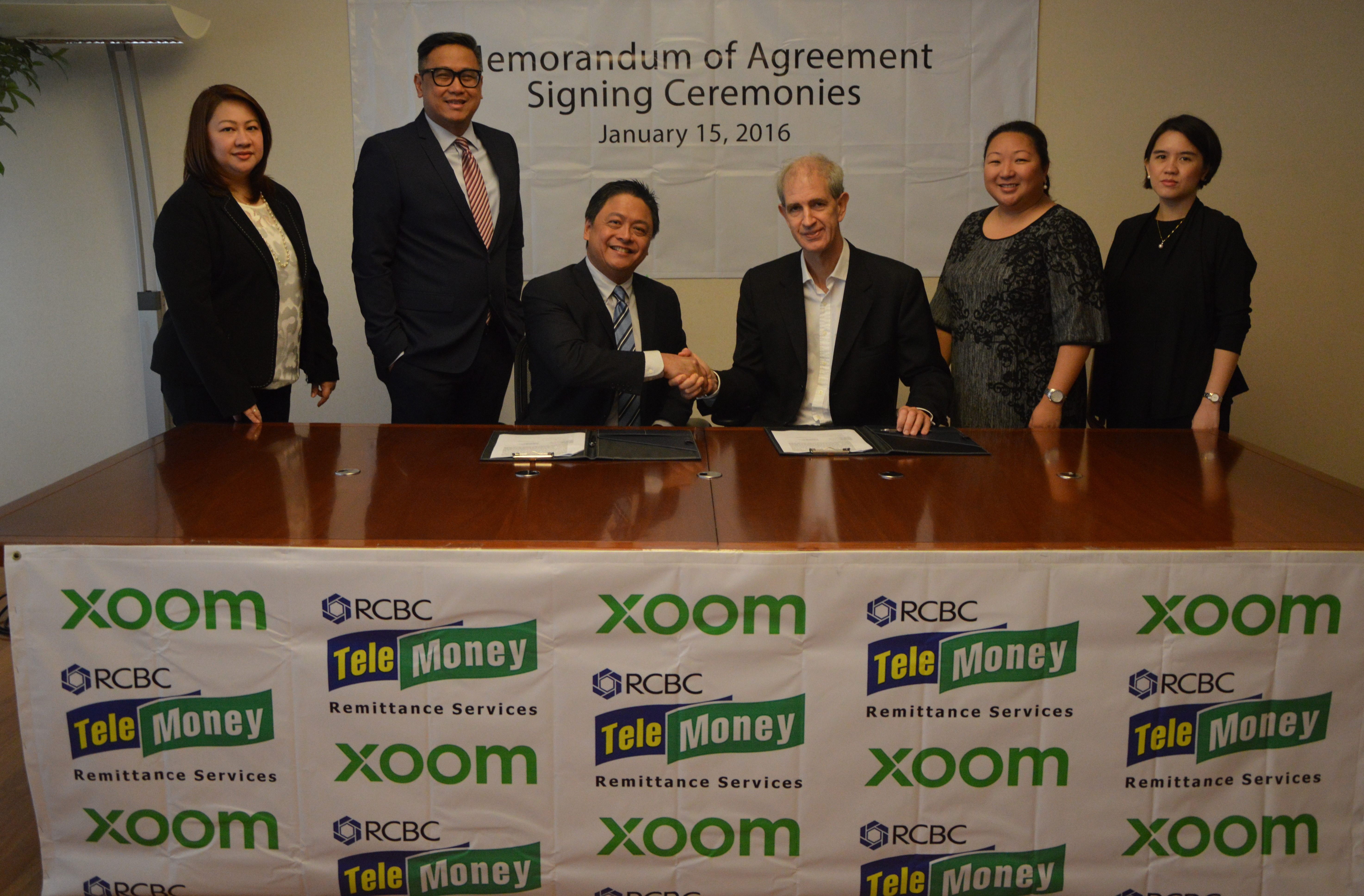 Xoom Launches Instant Deposit Service to all RCBC Accounts in the