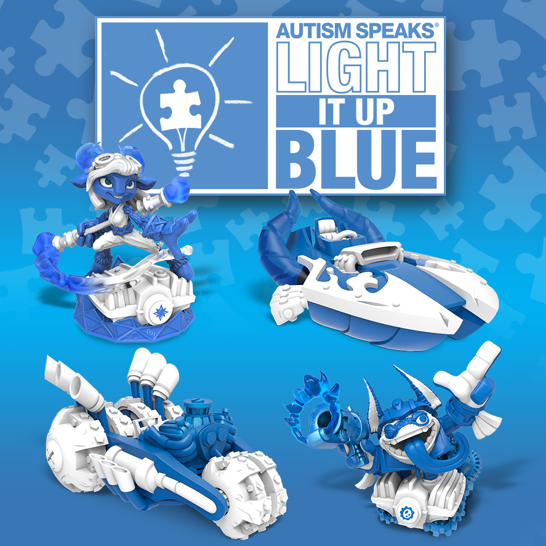 Autism Speaks Releases New Strategic >> Skylanders And Autism Speaks Partner For Autism Awareness Month With