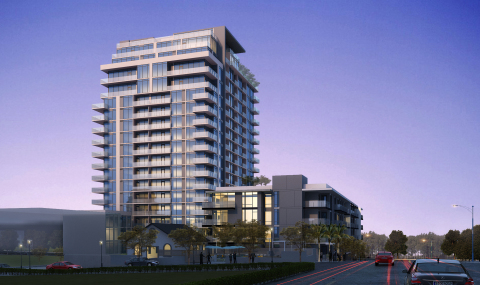 Trammell Crow Residential's Southern California Division has started construction on The Alexan, a 313-unit, mixed-use apartment community in Downtown San Diego. (Photo: Business Wire)