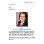 RelayHealth Financial Executive Bio Marcy Tatsch Vice President & General Manager, Reimbursement Solutions