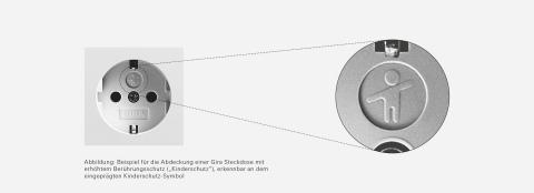 Abbildung Rückruf Gira Steckdosen mit Kinderschutz (Foto: Business Wire)