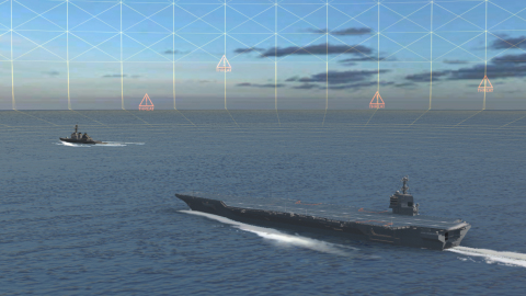 BAE Systems is developing next-generation electronic warfare technology that will quickly detect, locate, and identify sources of radio frequency signals. (Photo: BAE Systems)