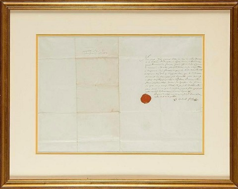 Headlining the auction of The Christopher Forbes Collection is the 1804 Religious Wedding Certificat ...