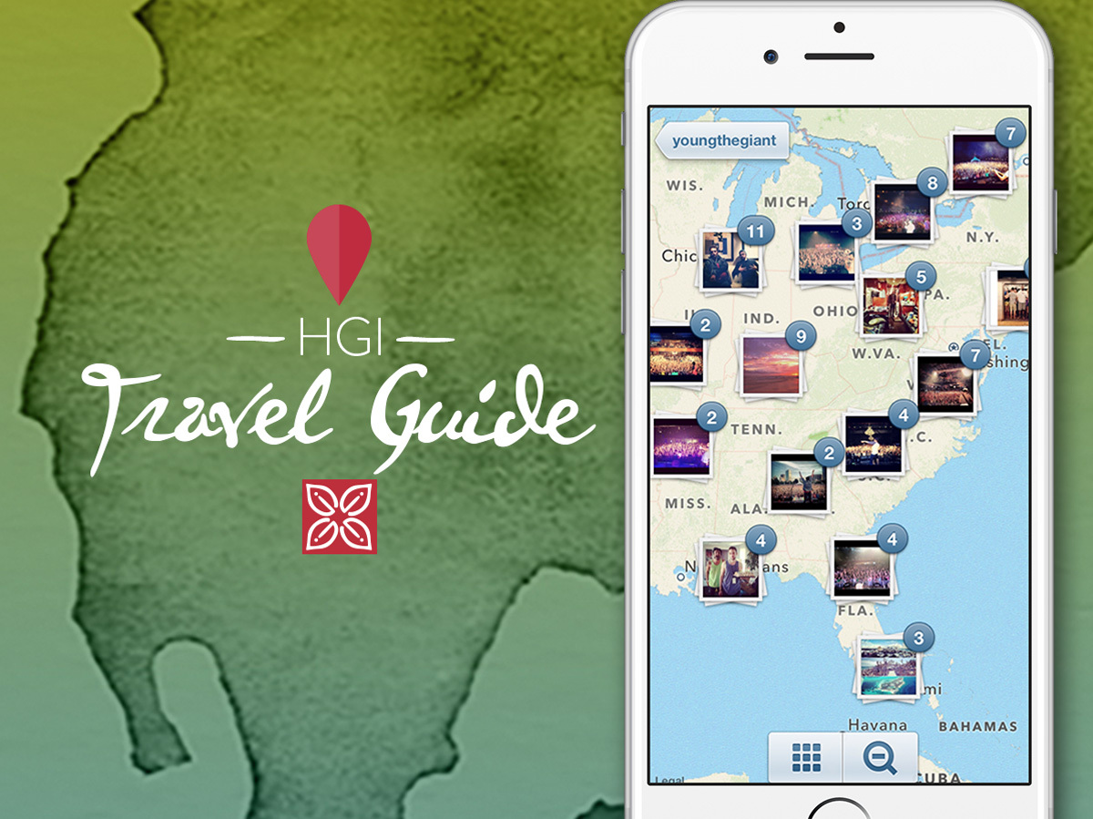 Hilton Garden Inn Introduces First Ever Instagram Based Photo Map Guide Filled With Bright Travel Ideas And Inspiration