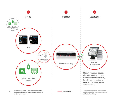 Masimo Iris Gateway (Graphic: Business Wire)