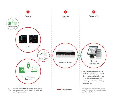 Masimo Iris Gateway (Graphic: Business Wire)