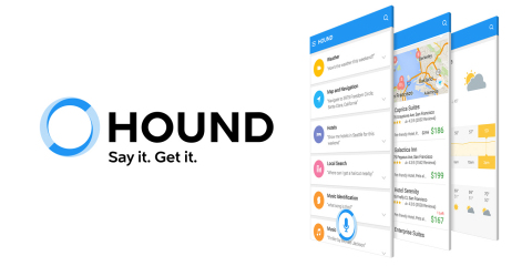 Hound: New voice search & assistant app, available now (Graphic: Business Wire)