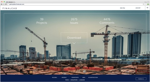 GETMYDATA enables users to download their worksite construction data and integrate it with existing  ...