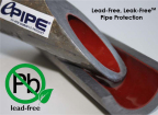 """The patented ePIPE pipe lining technology rehabilitates water and mechanical pipes from 1/2"""" diameter to 4"""" diameter with the lowest cure time in its market. ePIPE is the best alternative to a conventional pipe replacement, greatly reducing lead leaching, copper leaching, pinhole leaks, corrosion and other common water system failures. (Graphic: Business Wire)"""