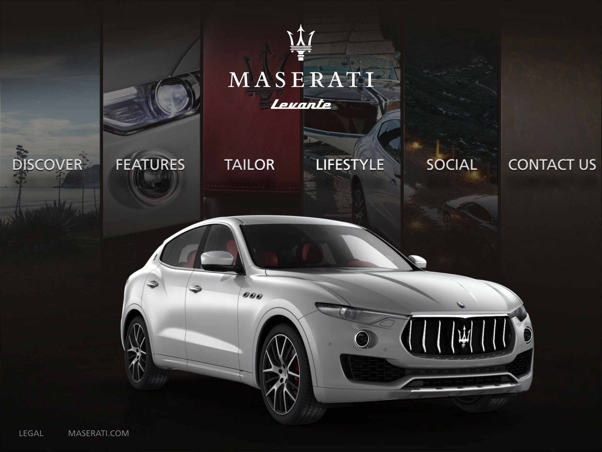 Experience The All New Maserati Levante Suv On Eview 360 S Mobile App Business Wire