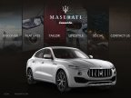 The all-new Maserati Levante SUV on the mobile app developed by Eview 360 (Photo: Business Wire)
