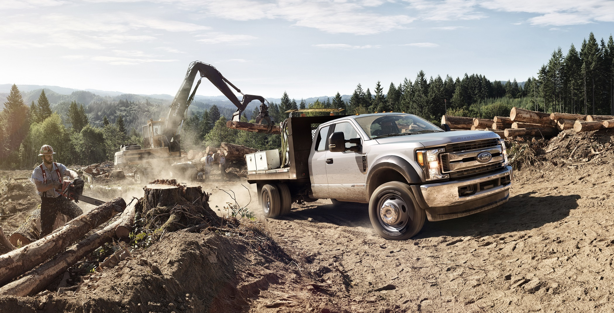 Best Ford Diesel Engine >> Get It Done All New Ford F Series Super Duty Chassis Cab