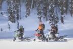MY17 Timbersled Group Ride. (Photo: Polaris Industries Inc.)