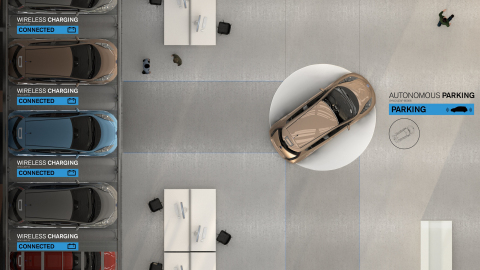 What is the Fuel Station of the Future? Visionary 'future of mobility concept' unveiled by Nissan Europe and Foster + Partners. Photo credit Foster + Partners