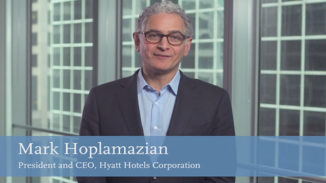 Hear more about The Unbound Collection by Hyatt from Mark Hoplamazian, CEO and President of Hyatt Hotels Corporation.