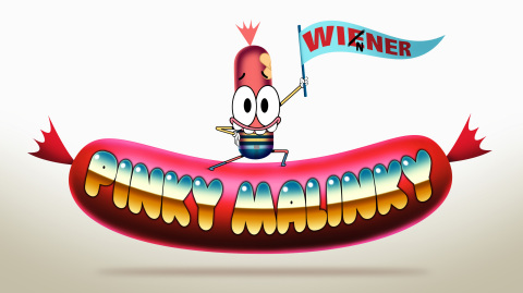 Pinky Malinky from Nickelodeon's new animated series Pinky Malinky. (Graphic: Business Wire)