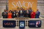 To celebrate his honor on the Savoy Top 100 for 2016, Dr. Hutchinson (third from the right) was also selected to participate in the NYSE Closing Bell ceremony last week, alongside other corporate leaders and honorees. (Photo: Business Wire)