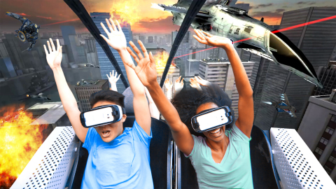 Six Flags Entertainment and Samsung Electronics announce the debut of North America's first Virtual  ...