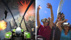 Virtual Reality Roller Coasters using Samsung Gear VR powered by Oculus to debut at nine Six Flags Theme Parks Nationwide (Photo: Business Wire)